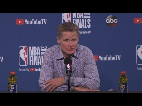 Steve Kerr Postgame Interview - Game 1   Cavaliers vs Warriors   May 31, 2018   2018 NBA Finals