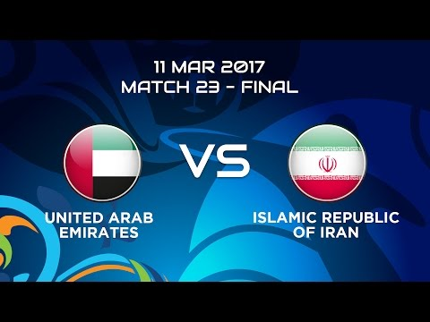 #AFCBeachSoccer2017 - M23 United Arab Emirates vs  Islamic Republic of Iran - News Report