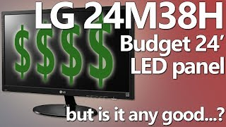 Let's unbox and review: LG 24' LED panel on the cheap. Is it good enough?