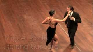 Zotto dancing milonga at Tango Magia 15(Miguel Zotto and Daiana Guspero beautiful milonga dance at Tango Magia in Amsterdam. Music live by