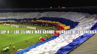 Top 8 - Los telones mas grande y largo de Sudamérica