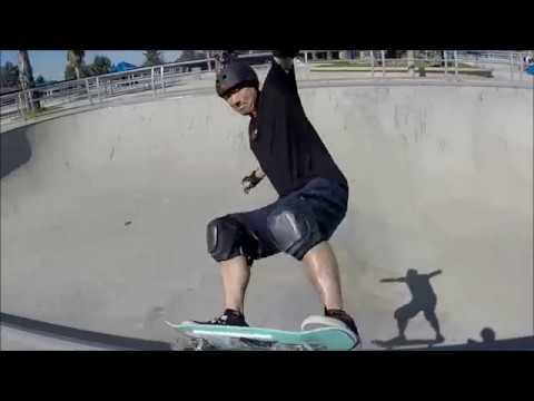 Middle-Aged Dad's Skateboarding Journey Highlights at 46 years old - 2017