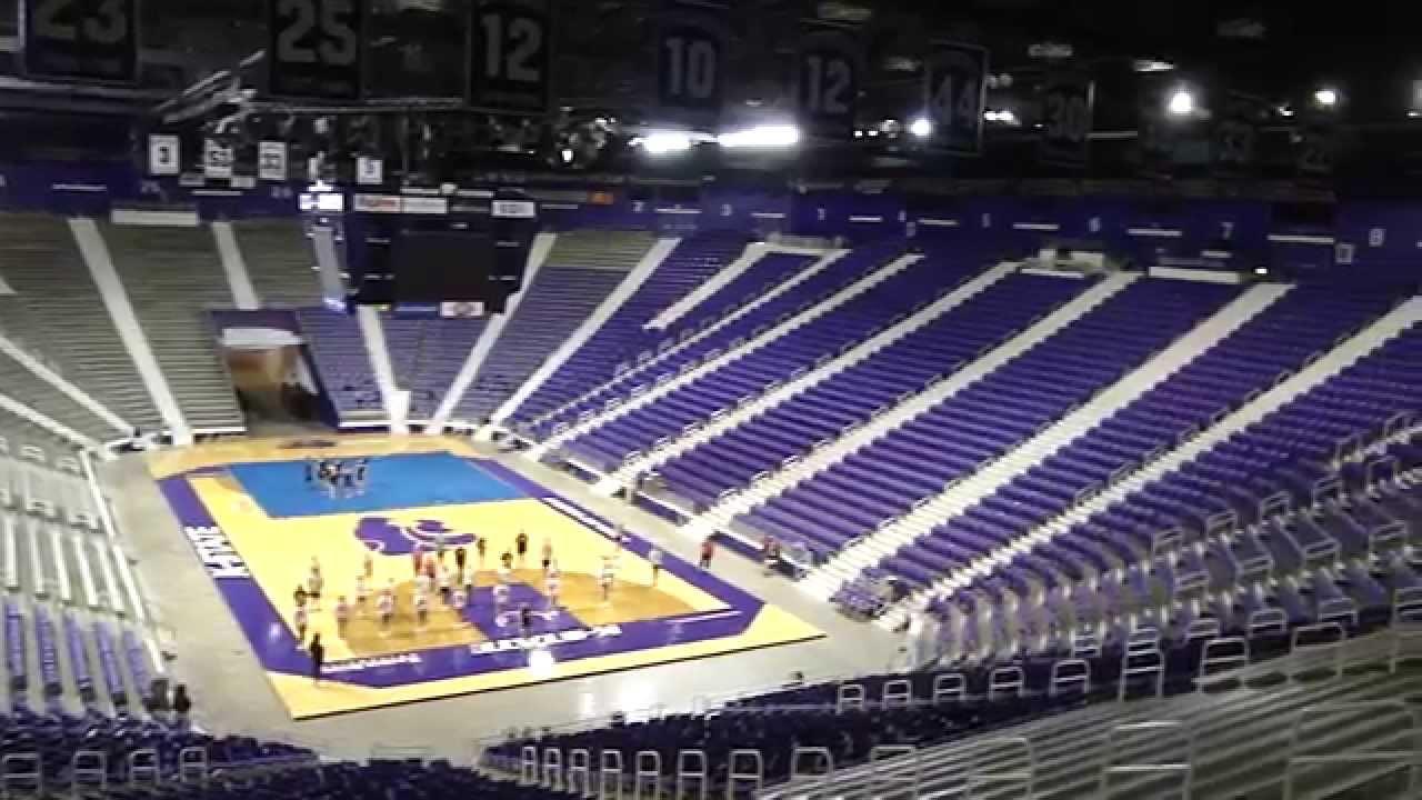 Kansas State Basketball Arena - YouTube