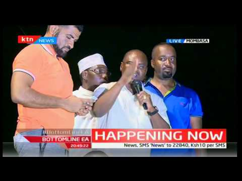 Governor Hassan Joho and Amason Kingi freed after arrest
