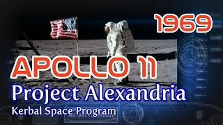 Apollo 11 in RSS / Project Alexandria-16 / KSP 1.0.4