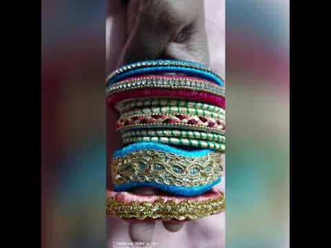 Reuse of old bangles at home