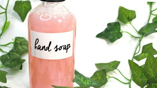 How to Make Condiтioning & Hydrating Hand Soap