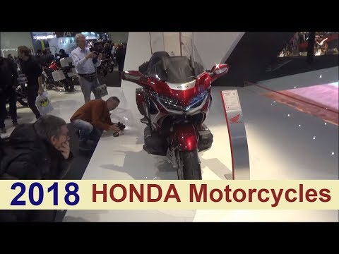 Honda Motorcycles 2018 - Happy New Year Honda.!!!!
