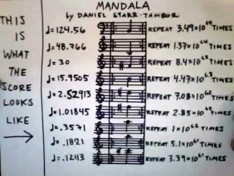 Mandala A Musical Palindrome,  Daniel StarrTambor