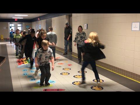 Digital Exclusive: Loess Hills Elementary School introduces sensory hallway