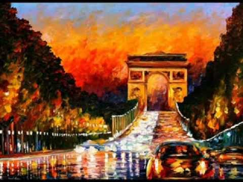 El arte de leonid afremov youtube for Buy mural paintings online