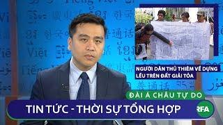 Tin nóng 24h 04/12/2018 | Người dân Thủ Thiêm về dựng lều trên đất giải tỏa