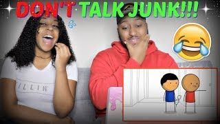 "sWooZie ""People That Talk Junk Behind Your Back"" REACTION!!!"