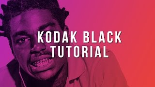 how to make a kodak black type beat fl studio tutorial