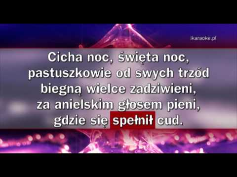 Kolęda - Cicha noc (karaoke)