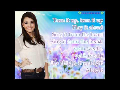 Sing It Lyrics on Screen - Rebeca Black - Youtube Video