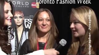 TorontoTV 多倫多網上電視 Toronto Fashion Week 20130320