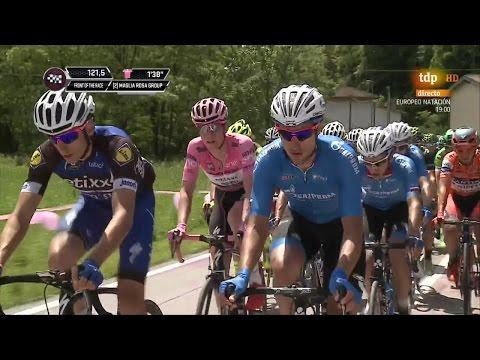 Giro de Italia 2016. Etapa 13 (HD)