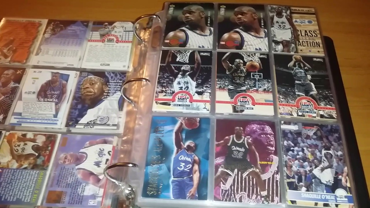 99062a61295 My Shaq Card Collection - YouTube