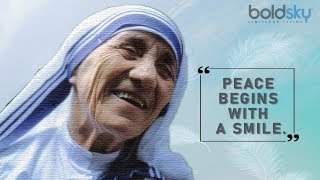 Remembering Mother Teresa On Her 109th Birth Anniversary: Inspirational Quotes