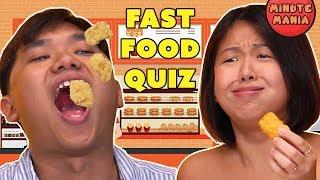 Minute Mania: Fast Food Quiz