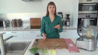 Green Pea Avocado Spread (raw Vegan)