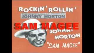 Watch Johnny Horton Sam Magee video