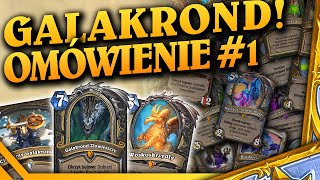 GALAKROND Rogue'a! - Omówienie kart Descent of Dragons #1