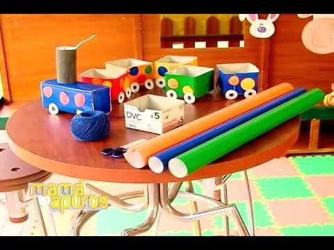 Juego para ni os con tren de papel mam en apuros youtube - Videos de art attack manualidades ...
