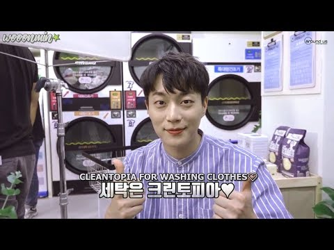 [ENG SUB] HIGHLIGHT Yoon Doojoon 'Come, let's do the laundry!' (Cleantopia CF behind)