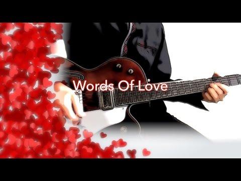 Words Of Love - The Beatles karaoke cover