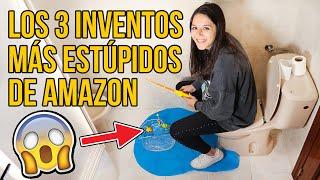 Los 3 PRODUCTOS MÁS ESTÚPIDOS que puedes comprar en AMAZON