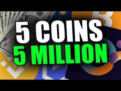 5 COINS TO 5 MILLION – TOP ALTCOINS TO HOLD FOR THE NEXT WEEKS