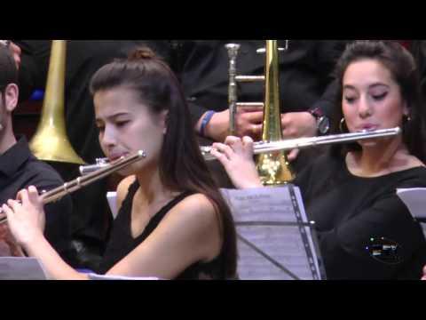 Concierto Banda Sinfónica en el Conservatorio Superior de Música Rafael Orozco