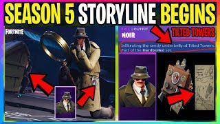 NEW Fortnite: Season 5 Storyline BEGINS *IT'S NOT WHAT IT SEEMS* (Battle Royale Leaks) Battle Pass