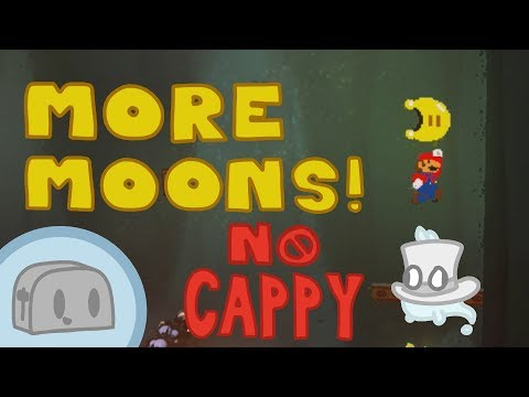 Getting More Moons in the Lost Kingdom Without Cappy (Super Mario Odyssey)