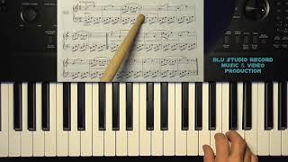 [76] Lezioni di pianoforte - Beyer esercizio 66 - versione free youtube