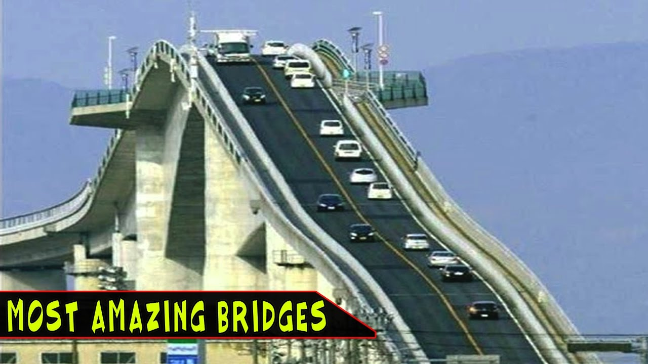 TOP 10 Most Amazing Bridges In The World - YouTube