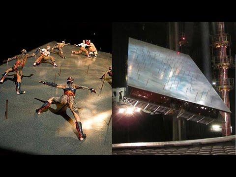 Cirque du Soleil artist falls during KÀ performance; K-Pop girl group harassed by fan - Compilation