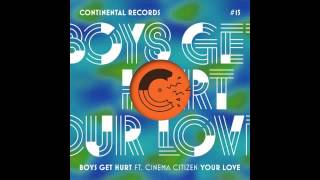 Boys Get Hurt - Your Love (feat. Cinema Citizen) [NSFW remix]