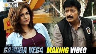 Psv garuda vega movie making video || rajashekar, shraddha das - filmyfocus.com