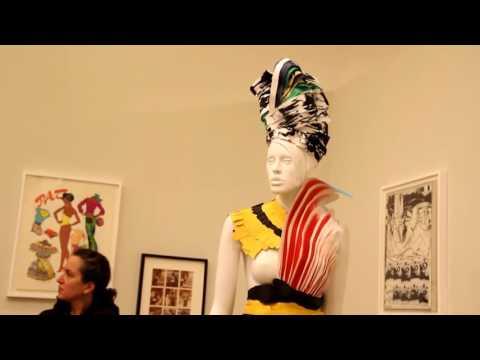 """Antonio Lopez: """"Antonio, Future Funk Fashion"""" exhibit (2016)"""