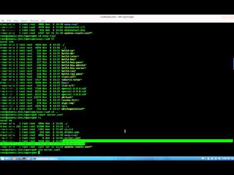 Installing and configuring OpenVpn