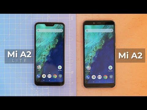 Mi A2 and Mi A2 Lite: First Impressions!