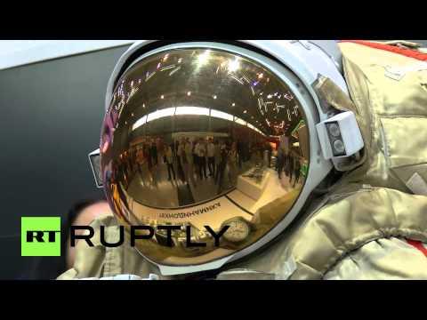 Cosmonaut Space Suit