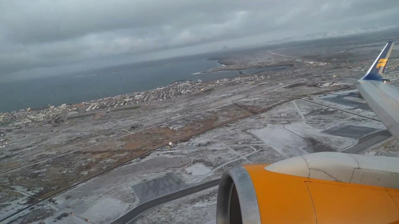 Icelandair Taking Off
