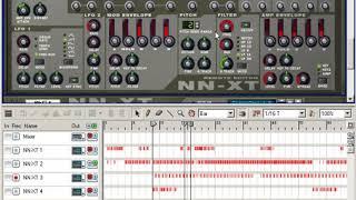 10. Créer une Musique Avec NN-19 & NN XT (Sinhala tutoriel - Reason de Propellerhead)