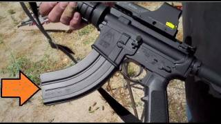 AR-15 Chambered in 7.62x39  -  How does it shoot?