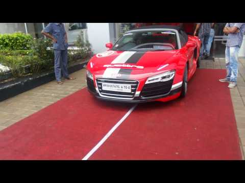 audi r8 in indore