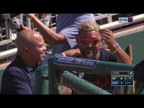 Cleveland Indians starter Danny Salazar wants you to know his new hairstyle is his, and his alone